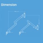 Flo Arm Dimension