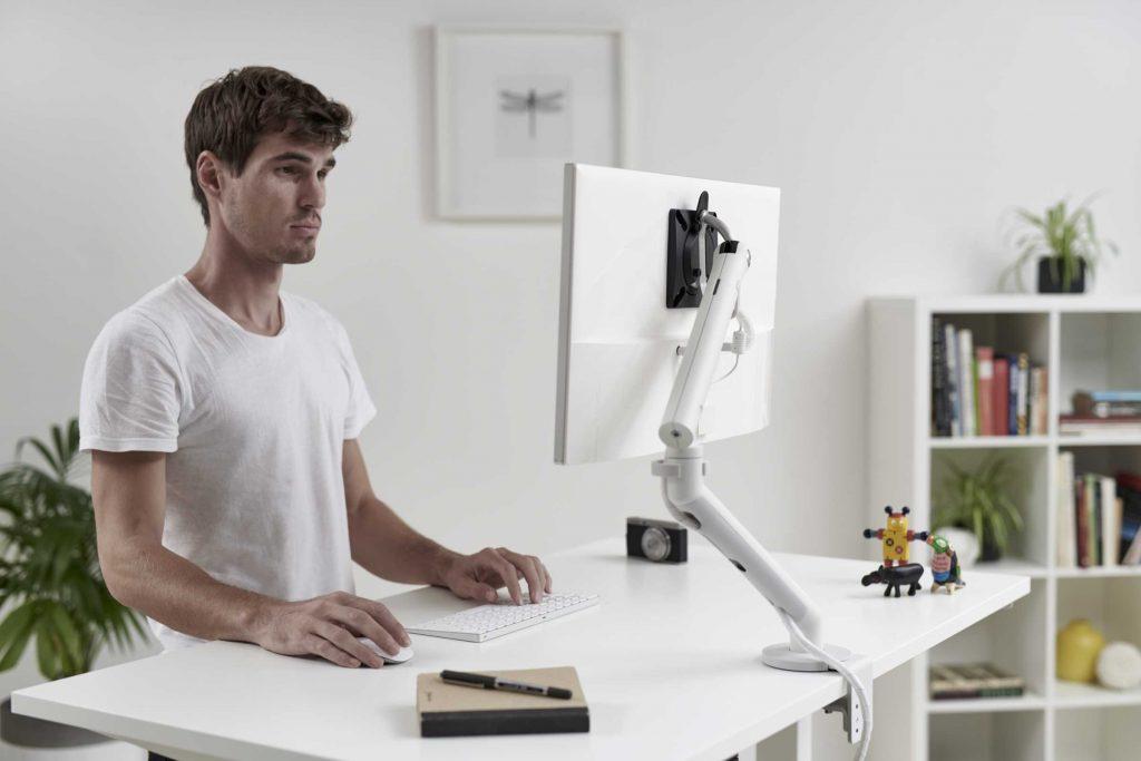 Ergonomic Flo Monitor Arm Home Office