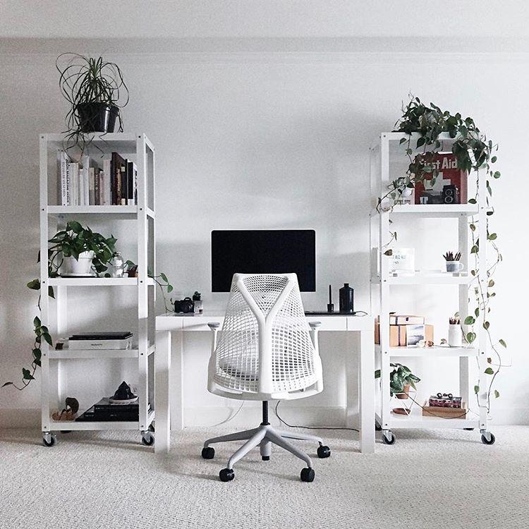 Sayl Chair Plants Greenery Home Office